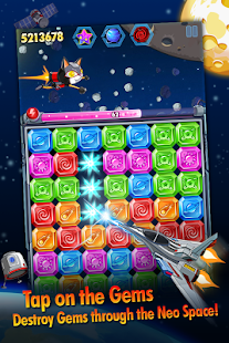 Diamond Space - Jewel Dash - screenshot thumbnail