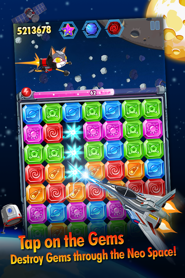 Diamond Space - Jewel Dash- screenshot