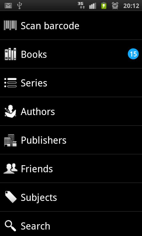BooksApp- screenshot