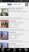 Screenshot of Philadelphia Real Estate