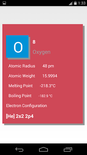 Complete Chemistry App 1.0.1 screenshots 3