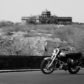 by Tejaswa Trivedi - Transportation Motorcycles ( land, device, transportation )