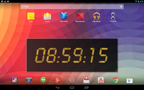 24 Clock Widget- screenshot thumbnail