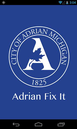Adrian Fix It