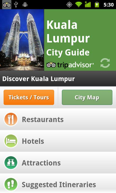 Kuala Lumpur City Guide screenshot #1