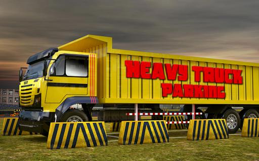 重型自卸車3D停車場