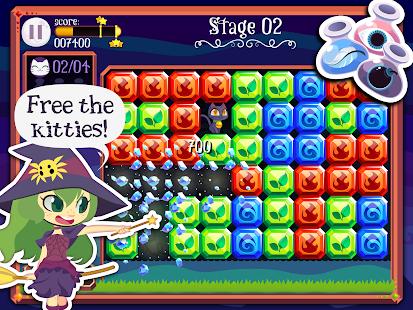 Magic Cats - Match 3 Puzzle