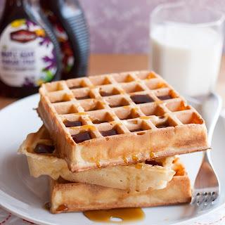 Overnight Yeasted Waffles.