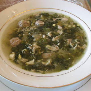 Minestra Maritata / Italian Wedding Soup