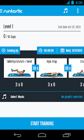 Runtastic Six Pack Abs Workout 1.3 screenshot 31793