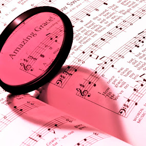 Amazing Grace by Steven Faucette - Artistic Objects Other Objects ( amazing, gace, hymn, pink, filter )