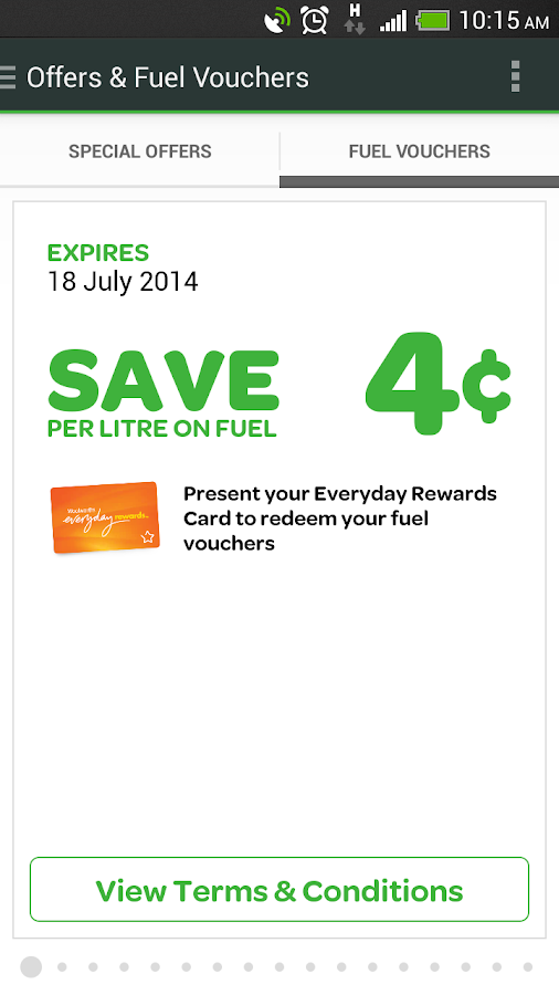 Woolworths Fuel - screenshot