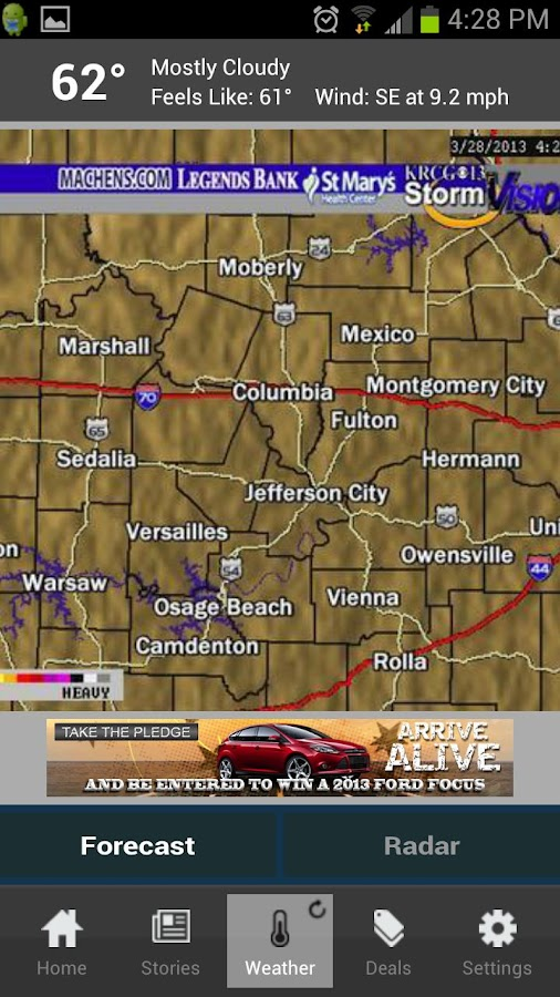 KRCG 13 - screenshot