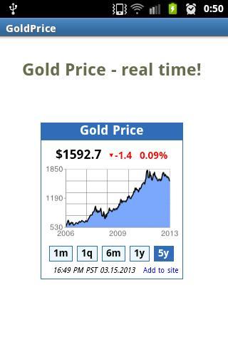 【免費財經App】黃金價格 - 真正的時間!-APP點子