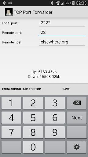 TCP Port Forwarder