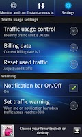 Screenshot of Data Traffic Monitor