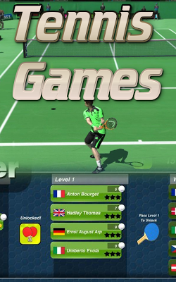 Tennis Games - screenshot