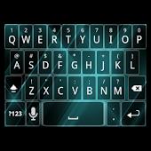 Tron Style Keyboard Skin