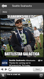 Sea Seahawks FanSide - screenshot thumbnail