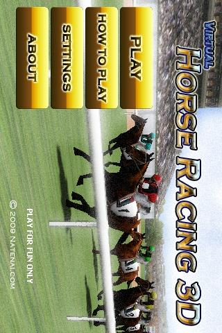 Virtual Horse Racing 3D - screenshot