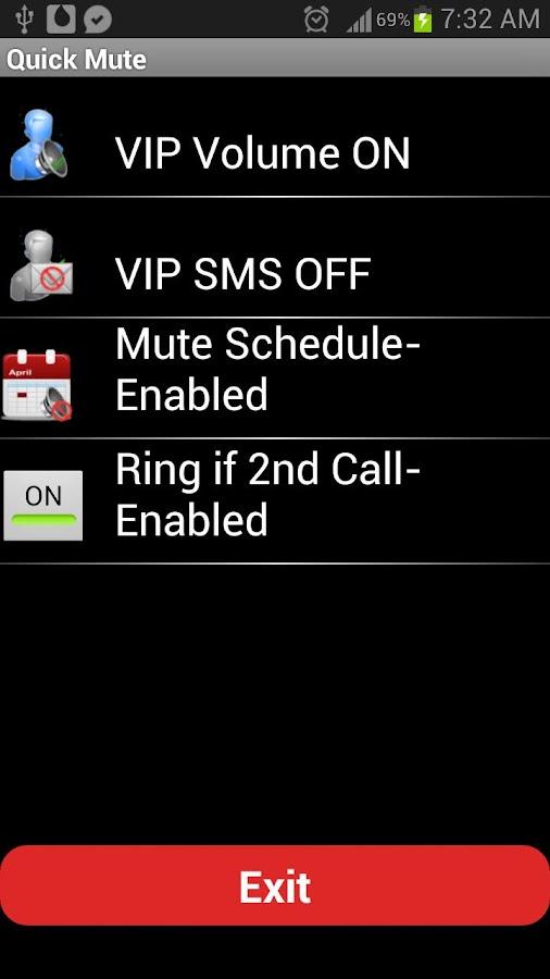 Mute 'N Caller Control - screenshot