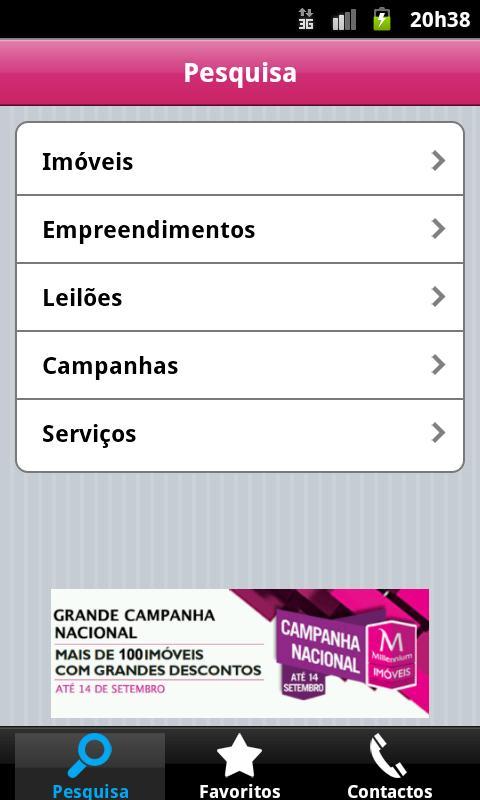 M Imóveis- screenshot