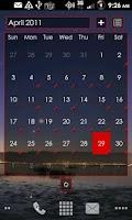 Screenshot of LauncherPro s23 BLURPS-RED