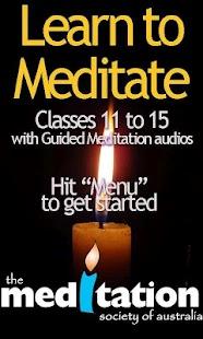 Learn to Meditate 11-15 - screenshot thumbnail