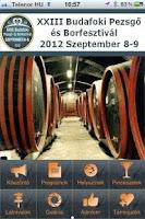 Screenshot of Budafok Wine Festival 2012