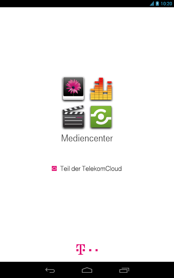 Mediencenter - screenshot