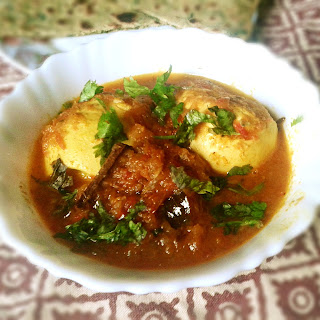 Egg Masala Curry Recipe – Spicy Egg Curry (Anda Curry)