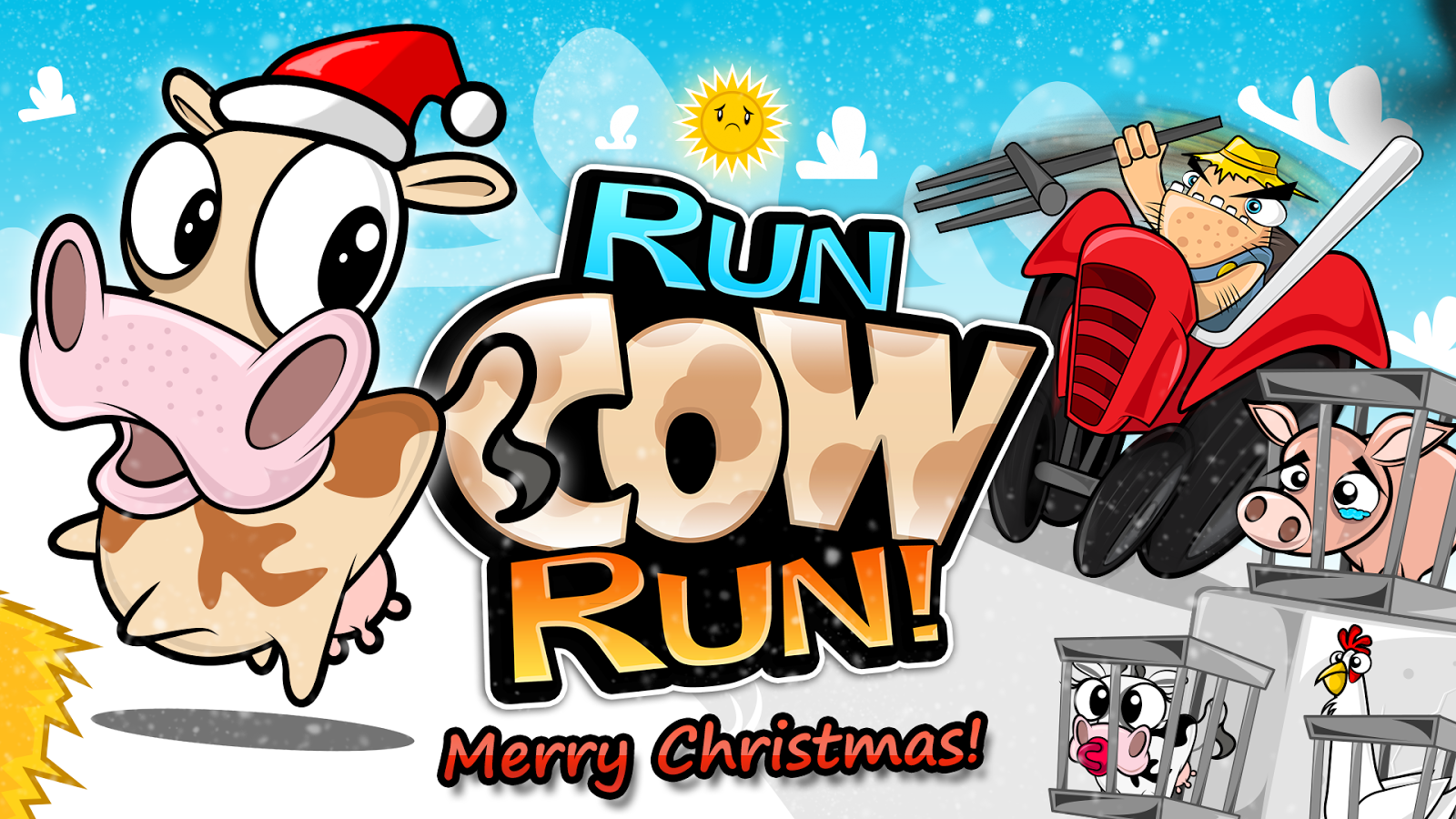 Run Cow Run - screenshot