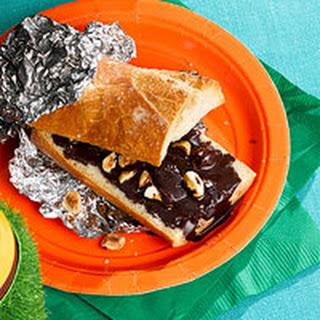 Grilled Hazelnut Chocolate Sandwiches