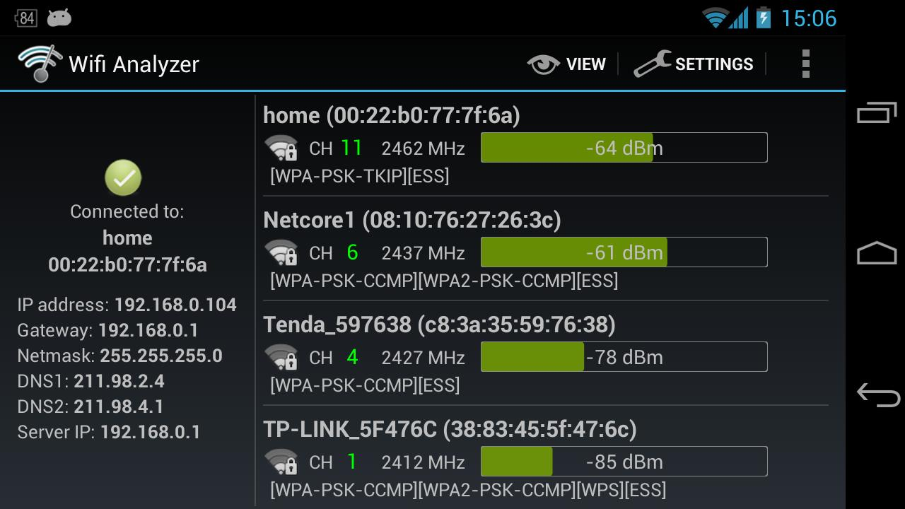 Android Wifi Analyzer : Wifi analyzer by farproc de sensor tower app