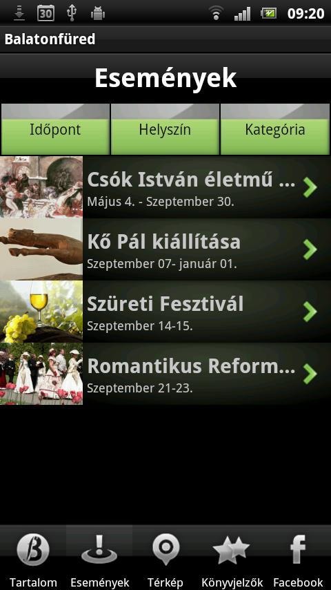 Balatonfüred- screenshot