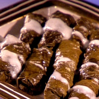 Voulas Offshore Cafe stuffed vine leaves