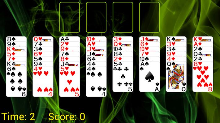 Selective Castle Solitaire - screenshot