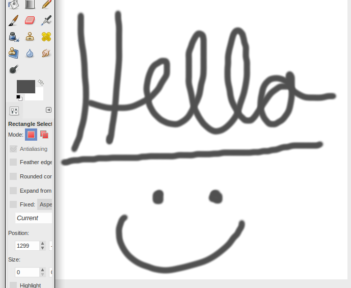 Slide Graphic Tablet - screenshot
