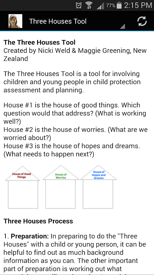 Safety Organized Practice Tool- screenshot