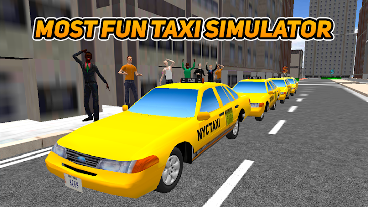 Taxi Driver Game screenshot