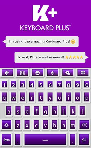 键盘加HD紫