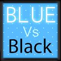 Pretty Blue Vs Black Keyboard icon