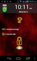 Screenshot of Neon Lock Screen