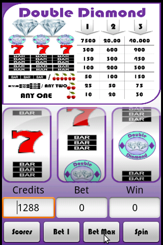 Slot Machine : Double Diamond- screenshot