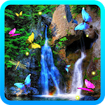 Waterfalls HD live wallpaper