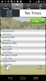 City of Aurora Golf Tee Times- screenshot thumbnail
