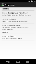 Download Persian Calendar for android | Seedroid