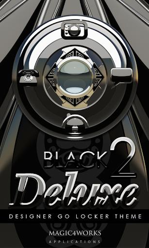 GO Locker Theme Black Deluxe 2