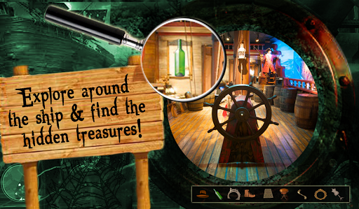 Lost Ship hidden objects