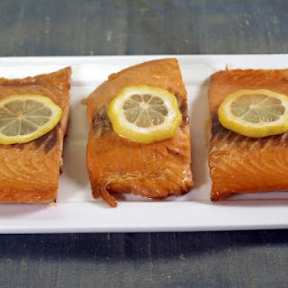 Baked Salmon Fillets.